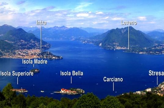 Lago Maggiore eiland hoppen
